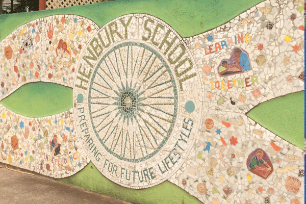 Janie Andrews Henbury School mosaic