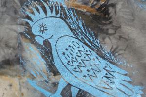 janie andrews cockatoo print