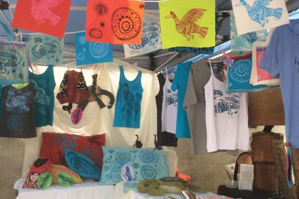 janie andrews print making