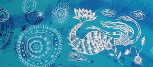 Janie Andrews textile art