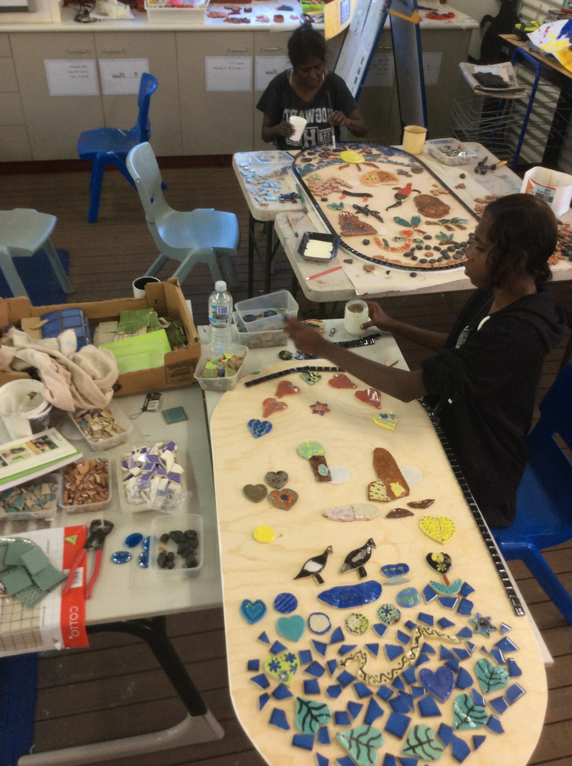 Knucky women centre mosaics 1