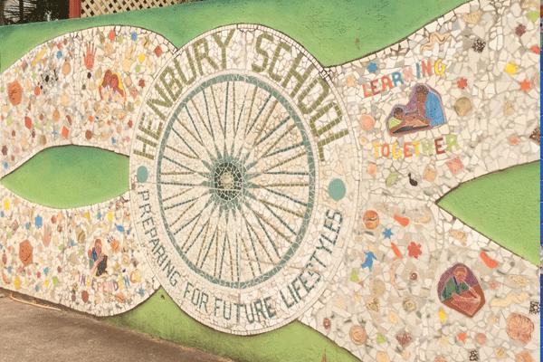 Janie Andrews Henbury School mosaic