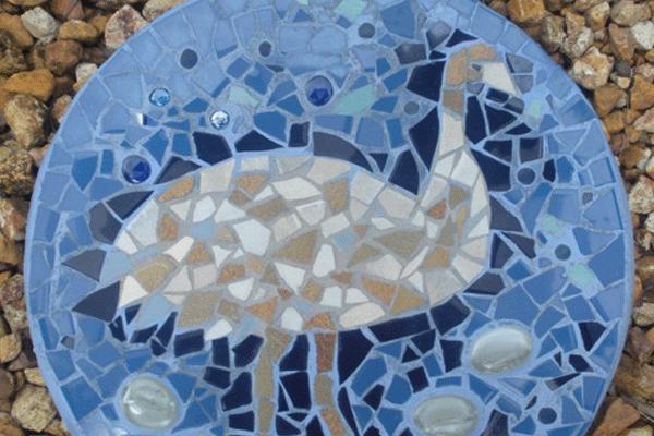 janie andrews emu paving mosaic