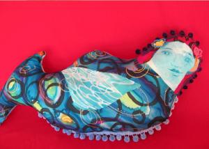 janie andrews mermaid soft sculpture