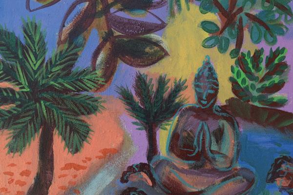 janie andrews sacred garden